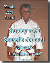 Sunday with Sensei's Journal 3