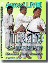 Tensho, Range of Intensity